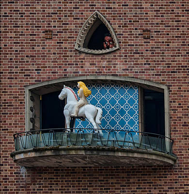 Lady Godiva Photograph - Lady Godiva And Peeping Tom by Dan McManus