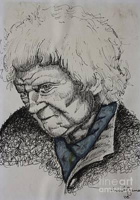 Lady Art Print by Grant Mansel-James