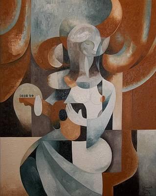 Painting - Lady Greensleeves by Joseph York