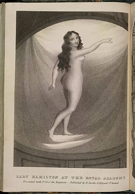 Depictions Of Nudity Photograph - Lady Hamilton by British Library