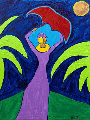 Lady In Lavender Original