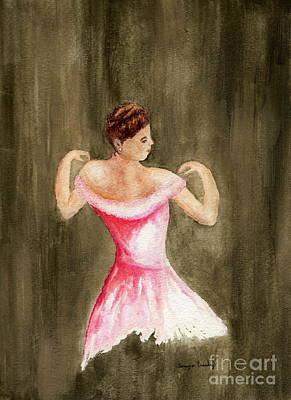 Painting - Lady In Pink by Tamyra Crossley
