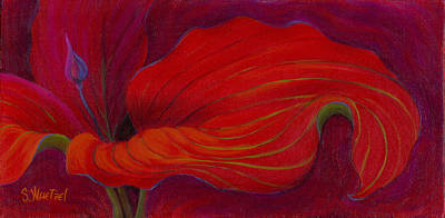 Painting - Lady In Red by Sandi Whetzel