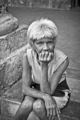 Photograph - Lady In The Square by Gigi Ebert