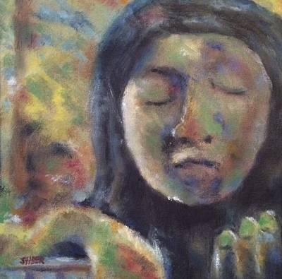 Painting - Lady In Waiting by Kathy Stiber