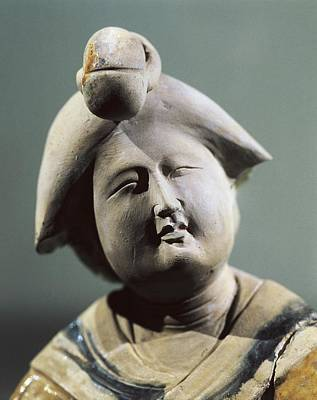 Ceramics Photograph - Lady Initiating The Gesture by Everett