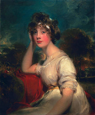 Head In Hands Painting - Lady Jane Long, 1793 by Thomas Lawrence