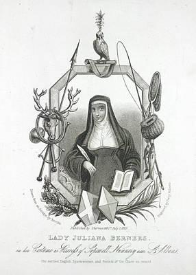 Lady Juliana Berners Art Print