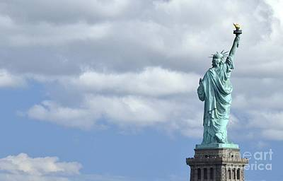 Photograph - Lady Liberty   1 by Allen Beatty