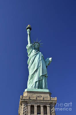 Photograph - Lady Liberty  11 by Allen Beatty