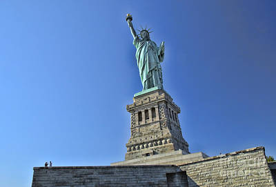 Photograph - Lady Liberty 8 by Allen Beatty