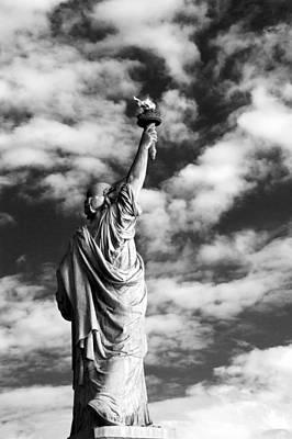 Photograph - Lady Liberty by Alina  Oswald