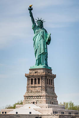 Photograph - Lady Liberty by Chris McKenna