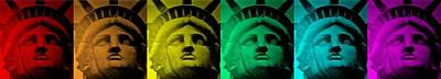 Lady Liberty For All Art Print