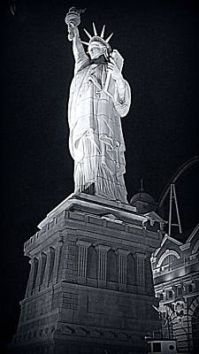 Statue Of Liberty Replica Photograph - Lady Liberty by Kay Novy