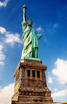 Photograph - Lady Liberty by Nick Zelinsky