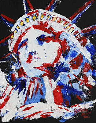 Lady Liberty  Art Print by Patricia Olson