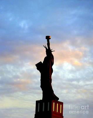 Photograph - Lady Liberty by Renee Trenholm