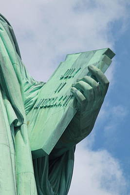 4th July 1776 Photograph - Lady Liberty's Book by Jeannette Cruz