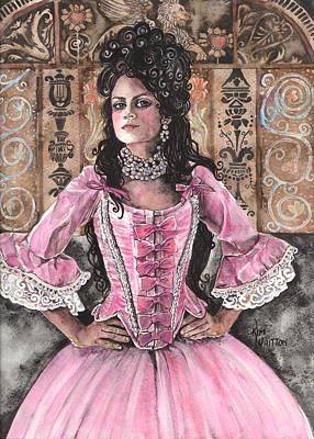 Painting - Lady Lorraine by Kim Sutherland Whitton