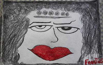 Lady Makbet -  I Want Your Sex. By Poesie D'amore Di Nunzio. Art Print by  Andrzej Goszcz