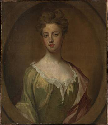 Kneller Painting - Lady Mary Berkeley, Wife Of Thomas by Sir Godfrey Kneller