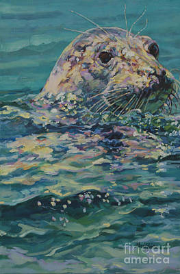 Cape Cod Painting - Lady Mononomy by Patricia A Griffin