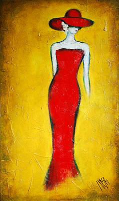 Cityscape Painting - Lady by Nebojsa Jovanovic NESAART