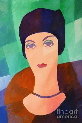 Painting - Lady Nostalgia by Lutz Baar