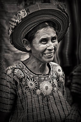 Lady Photograph - Lady Of Santiago Atitlan by Tom Bell