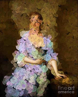Digital Art - Lady Of Spring - Des Femmes Et Des Fleurs by Aimelle
