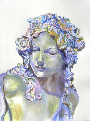 Painting - Lady Of Stone by Mary Haley-Rocks