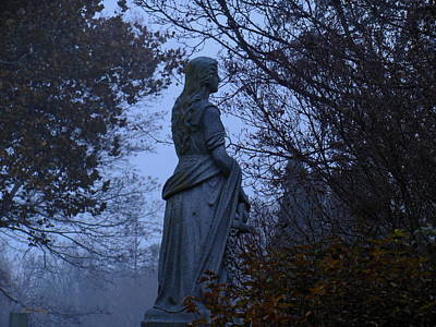 Photograph - Lady Of The Mist by Wild Thing