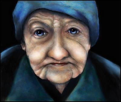 Digital Art - Lady by Rick Mosher