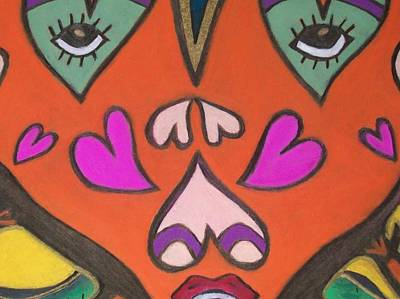 Lady St Valentine Original by Jonathon Hansen