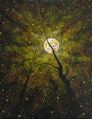 Painting - Lady Starlight by Joel Tesch