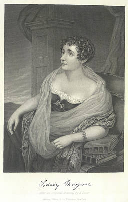 Morgan Photograph - Lady Sydney Morgan by British Library