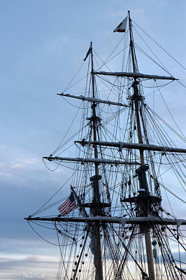 Michelle Obama Photograph - Lady Washington's Masts by Heidi Smith