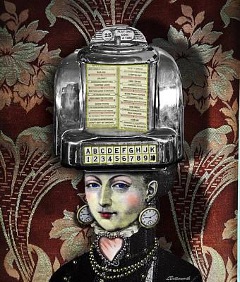 Lady Wurlitzer Art Print by Larry Butterworth