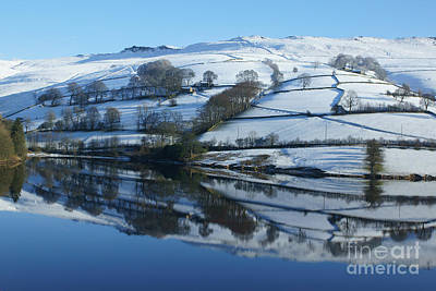 Photograph - Ladybower Reflections by David Birchall
