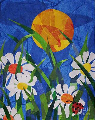 Mixed Media - Ladybug by Diane Miller