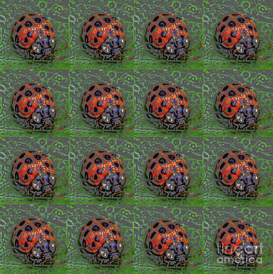 Photograph - Ladybug Pop Art by Kerri Farley