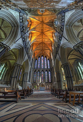 Photograph - Lady Chapel Vertorama by Yhun Suarez