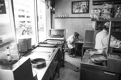 Hot Dogs Photograph - Lafayette Coney In Detroit  by John McGraw
