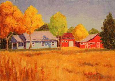 Painting - Lafayette Farm  by Ruth Soller