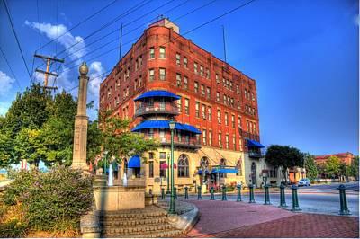 Photograph - Lafayette Hotel by Jonny D