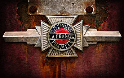 Photograph - Lafrance Badge by Mary Jo Allen