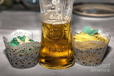 Lager Cake  Art Print by Rob Hawkins
