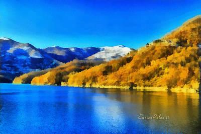 Photograph - Lago Del Brugneto - Brugneto Lake by Enrico Pelos