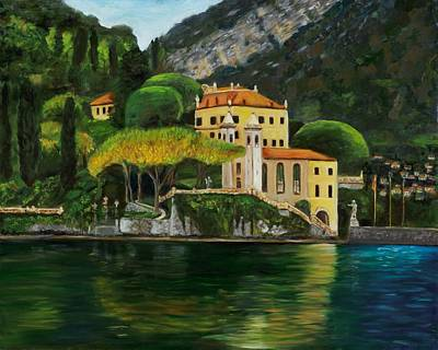 Lago Di Como Original by Claudia Herrick